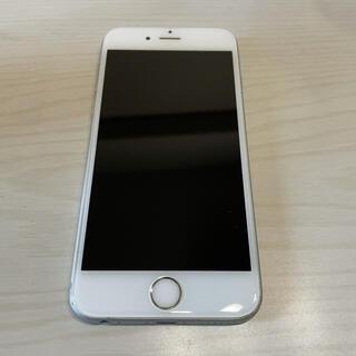 アップル(Apple)のiPhone 6s silver 128 GB UQmobile(スマートフォン本体)