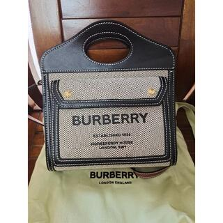 BURBERRY - BURBERRY バーバリーポケットバッグ