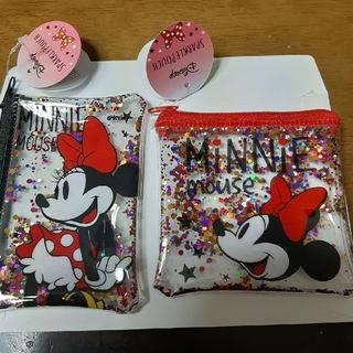 Disney - ミニーマウス ミニー ミニポーチ 2個セット