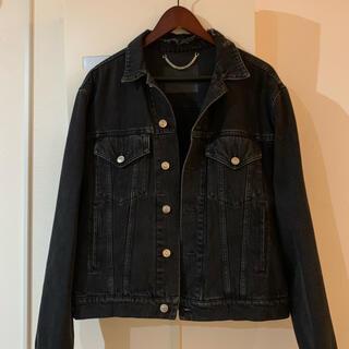 Balenciaga - 美品 バレンシアガ デニムジャケット ブラック オーバーサイズ