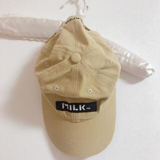ミルクフェド(MILKFED.)のMILKFED.キャップ(キャップ)