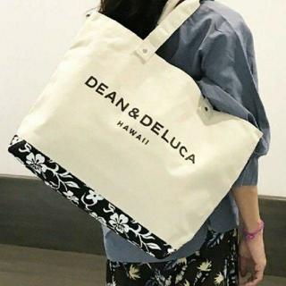 ディーンアンドデルーカ(DEAN & DELUCA)の新品タグ付きDEAN&DELUCA キャンバストートバックハワイ限定モデ(トートバッグ)