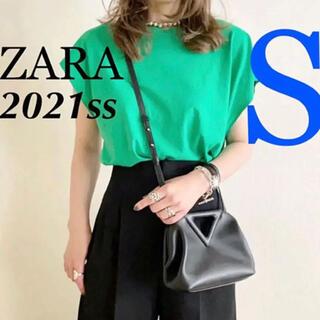 ZARA - ★24時間以内に発送★Sサイズ【新品/完売】ZARA ベーシックTシャツ