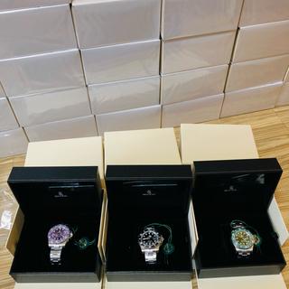 アベイシングエイプ(A BATHING APE)のBAPEX TYPE1  腕時計黒1、グリーン1、パープル2(腕時計(アナログ))
