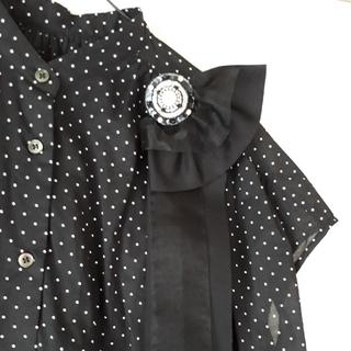 ビーズ刺繍リボンブローチ5(コサージュ/ブローチ)