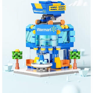 LEGO互換製品 ブロック ショッピングモール レゴ おもちゃ(模型/プラモデル)