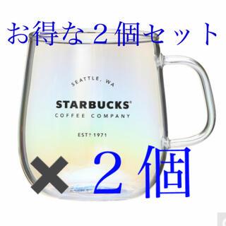 Starbucks Coffee - スターバックス 耐熱グラスマグラスター スタバ 2個