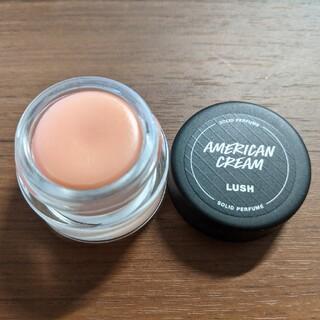 LUSH - LUSH アメリカンクリーム 練り香水 ソリッドパフューム