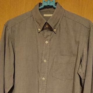 ジーユー(GU)の【GU】メンズキレイめシャツ 長袖 Sサイズ(シャツ)