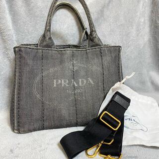 プラダ(PRADA)のカナパ デニム 正規品(トートバッグ)