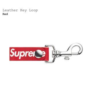 シュプリーム(Supreme)のsupreme Leather Key Loop Red (キーホルダー)