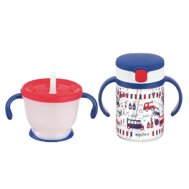 Richell(リッチェル)のリッチェル☆いきなりストローマグセット キッズ/ベビー/マタニティの授乳/お食事用品(マグカップ)の商品写真