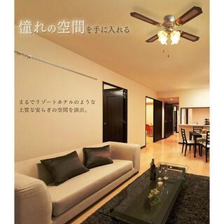 シーリング ファン ライト 天井照明 照明 空気循環 冷暖房効率UP 省エネ (天井照明)