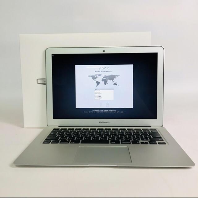 Mac (Apple)(マック)のMacBook Air 13インチ 2017、綺麗な状態です。 スマホ/家電/カメラのPC/タブレット(ノートPC)の商品写真