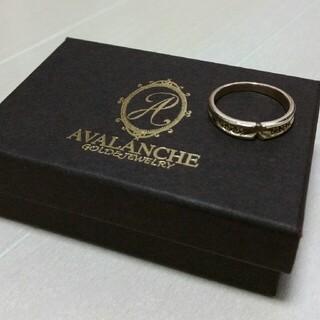 アヴァランチ(AVALANCHE)のアバランチ avalanche アヴァランチ 10K リング ダイヤ 17号(リング(指輪))