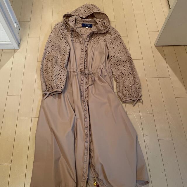 M'S GRACY(エムズグレイシー)のエムズ サイズ38 ワンピースコート レディースのジャケット/アウター(その他)の商品写真