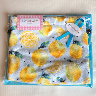 FEILER - フェイラー マチ付き巾着 レモンドット