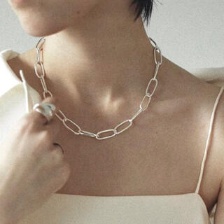 TODAYFUL - 限定 /Silver925_ Oval chain necklace