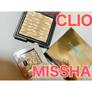 ミシャ(MISSHA)の【新品未使用】クリオ ハイライト ミシャ アイシャドウ(フェイスカラー)