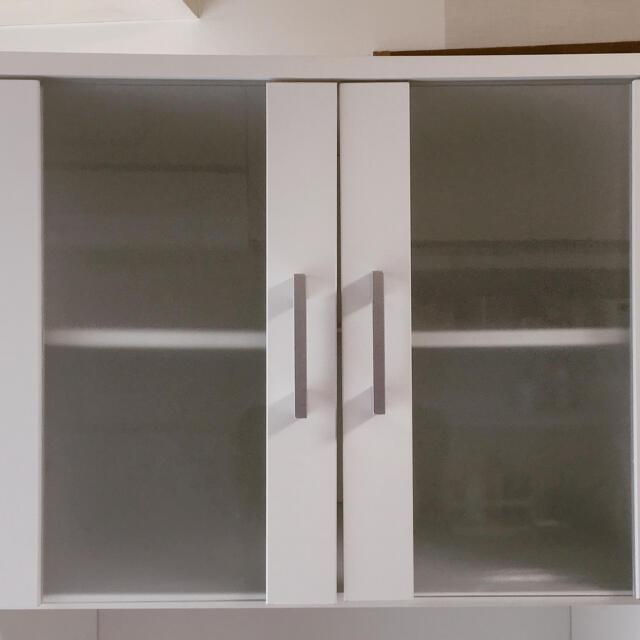 ニトリ(ニトリ)の値下げ【ニトリ】食器棚 インテリア/住まい/日用品のキッチン/食器(収納/キッチン雑貨)の商品写真