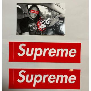 シュプリーム(Supreme)のSupreme ノベルティステッカー シュプリーム sticker3枚(ノベルティグッズ)