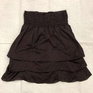 バーニーズニューヨーク(BARNEYS NEW YORK)の【PARK LAMU】パルクラミュー 3段階切り替えスカート(ひざ丈スカート)