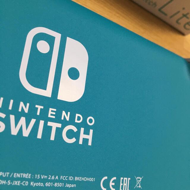 任天堂(ニンテンドウ)のNintendo Switch lite スイッチ ライト 本体 ターコイズ エンタメ/ホビーのゲームソフト/ゲーム機本体(家庭用ゲーム機本体)の商品写真