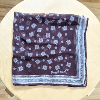 マーガレットハウエル(MARGARET HOWELL)のマーガレットハウエル スカーフ バンダナ シルク(バンダナ/スカーフ)