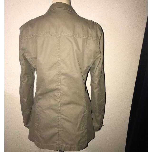 DIESEL(ディーゼル)のDIESEL送料込ディーゼル定価3万円程ミリタリージャケット正規イタリアブランド メンズのジャケット/アウター(ミリタリージャケット)の商品写真