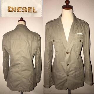 DIESEL - DIESEL送料込ディーゼル定価3万円程ミリタリージャケット正規イタリアブランド