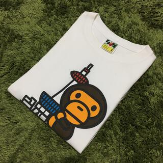 アベイシングエイプ(A BATHING APE)のアベイシングエイプ 京都タワー メンズ Tシャツ(Tシャツ/カットソー(半袖/袖なし))
