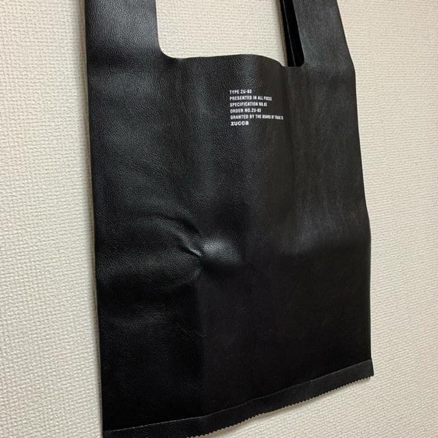 ZUCCa(ズッカ)のZUCCa レザー調ビッグマルシェバッグ レディースのバッグ(トートバッグ)の商品写真