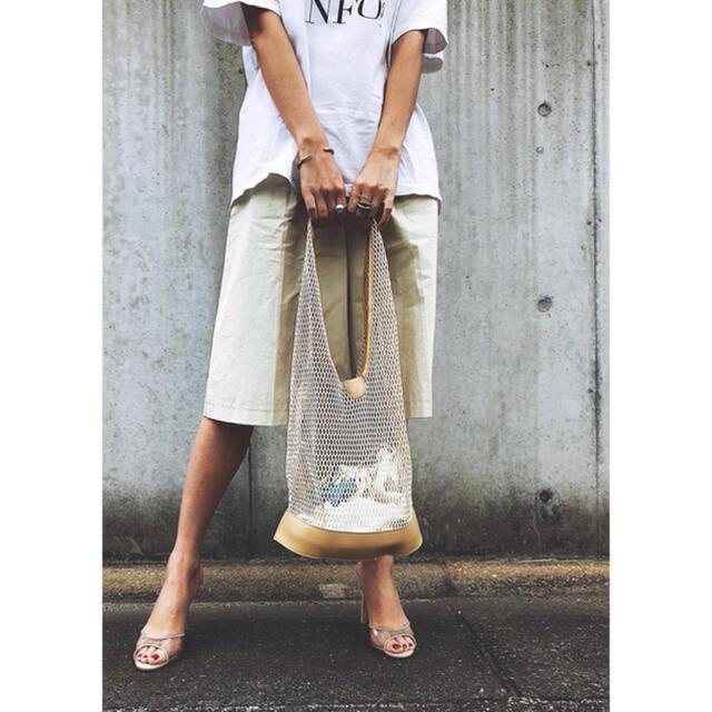 TODAYFUL(トゥデイフル)のメッシュ ショルダーバッグ レディース ベージュ カゴバッグ サマーバッグ  茶 レディースのバッグ(ショルダーバッグ)の商品写真