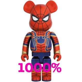 メディコムトイ(MEDICOM TOY)のMEDICOM TOY BE@RBRICK IRON SPIDER 1000%(キャラクターグッズ)