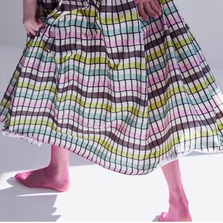 Drawer - SHE Tokyo新品未使用Michelle multi checkスカート