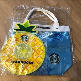Starbucks Coffee - スターバックス シーズナル コレクション サマー トートバッグ カップホルダー