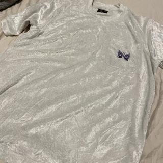 ニードルス(Needles)のNeedles蝶刺繍 半袖tシャツ レア(Tシャツ/カットソー(半袖/袖なし))