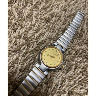 Dunhill - ダンヒル 腕時計 ダイヤモンド12p ゴールド