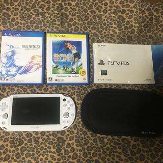 プレイステーションヴィータ(PlayStation Vita)のSONY PlayStationVITA 本体  PCH-2000 ZA12(携帯用ゲーム機本体)