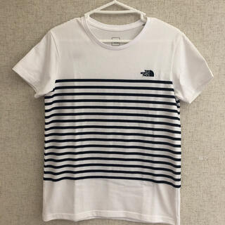 THE NORTH FACE - ボーダーTシャツ美品✨
