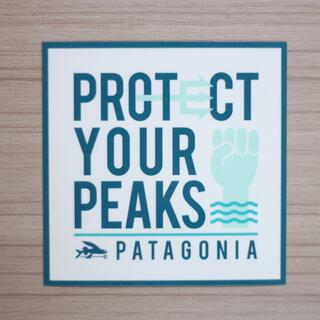 パタゴニア(patagonia)のパタゴニア ステッカー正方形(登山用品)