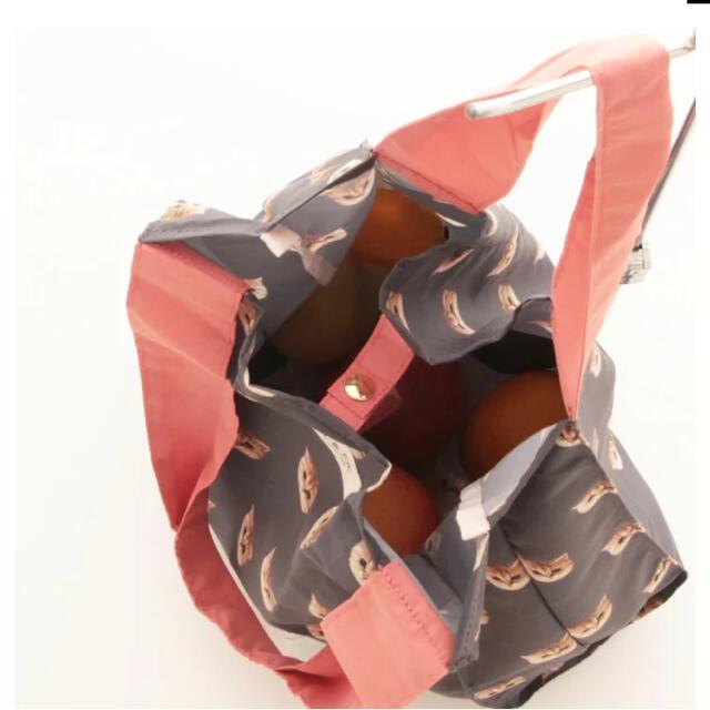 PAUL & JOE(ポールアンドジョー)の【専用】【新品未使用】ポール&ジョー エコバッグ グレー ヌネット レディースのバッグ(エコバッグ)の商品写真