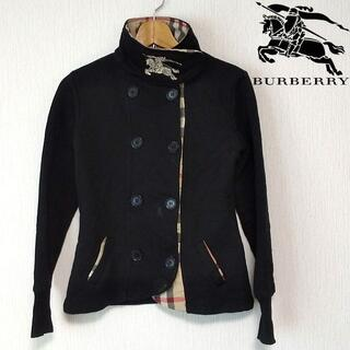 バーバリー(BURBERRY)のバーバリー キッズ 140‐150cm ブラック バーバーリーチェック(ジャケット/上着)