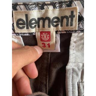 エレメント(ELEMENT)のELEMENT パンツ(ワークパンツ/カーゴパンツ)
