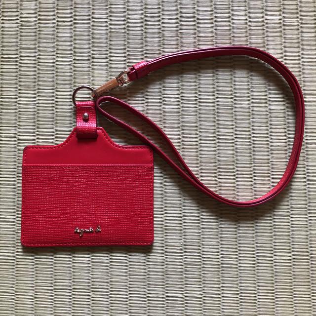 agnes b.(アニエスベー)のアニエス・ベー 社員証 IDカード カード ケース レディースのファッション小物(パスケース/IDカードホルダー)の商品写真