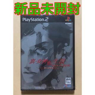 プレイステーション2(PlayStation2)の【新品未開封】 PS2 真・女神転生 III ノクターン マニアクス カセット(家庭用ゲームソフト)