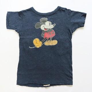 DENIM DUNGAREE - デニム&ダンガリー ワッペンいっぱいミッキーコラボTシャツ 130