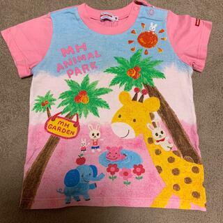 ミキハウス(mikihouse)のミキハウス Tシャツ ピンク(Tシャツ/カットソー)