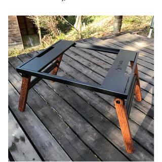 [BLACK DESIGN] アイアンウッドテーブル 日和 HIYORI