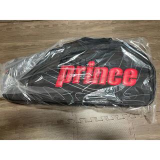 プリンス(Prince)のprince ラケットバッグ6本入 ブラック×レッド(バッグ)